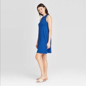A new day women's royal blue tank dress